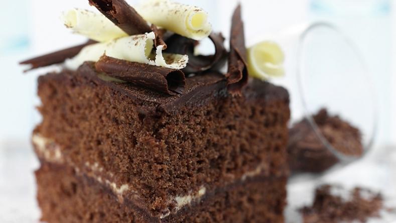 Wicked Triple Chocolate Cake