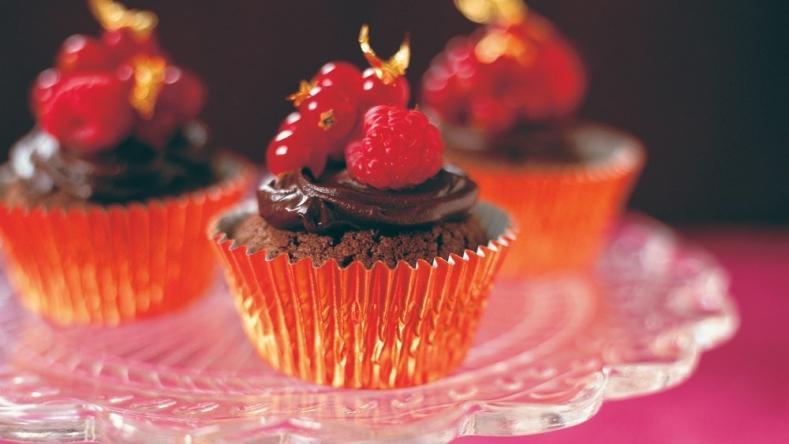 Rich Divine Chocolate Cupcakes