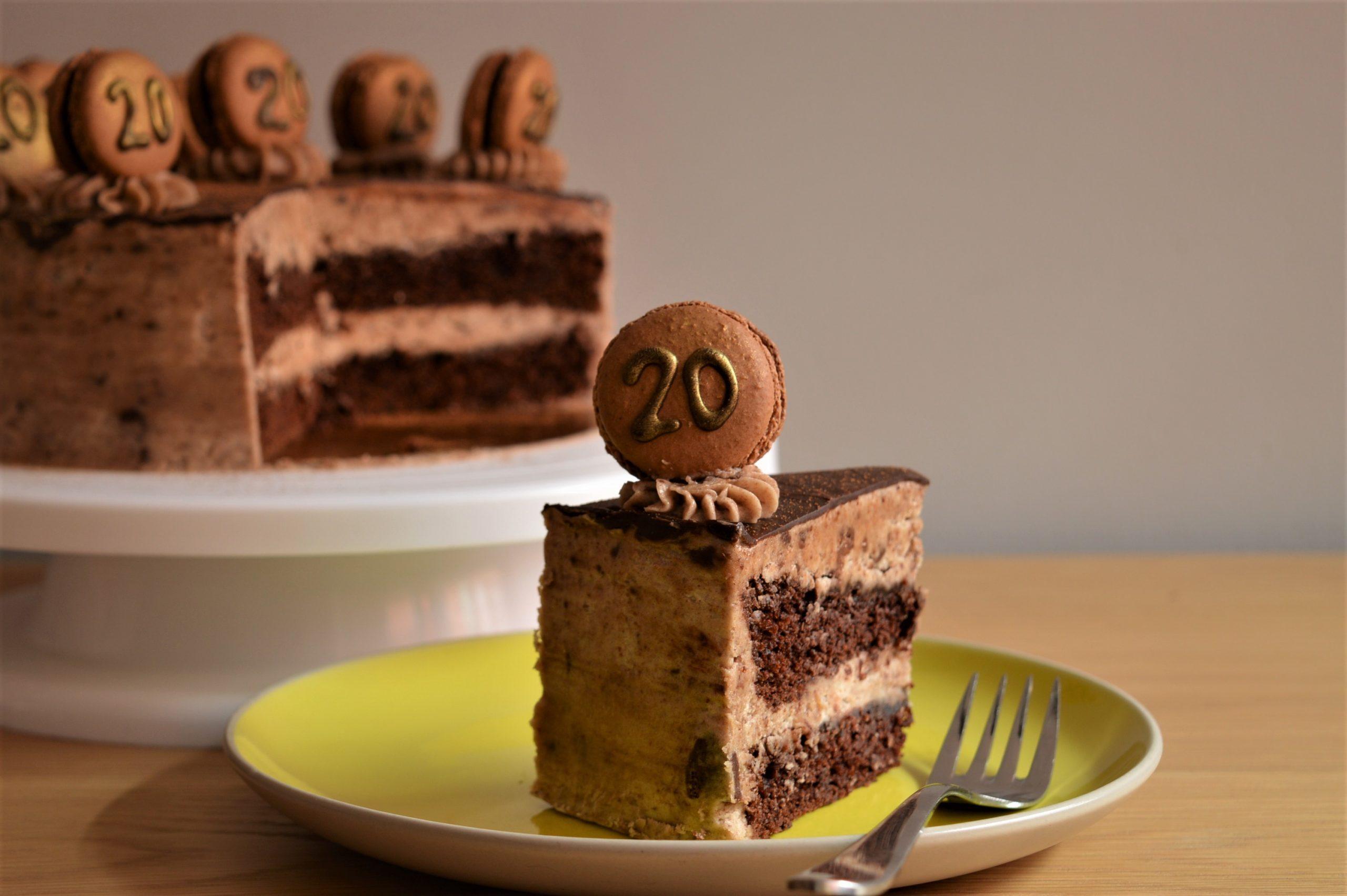 Lemon & Juniper Chocolate Cake