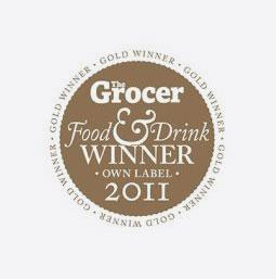 The Grocer Own Label Food & Drinks Awards Winner 2011
