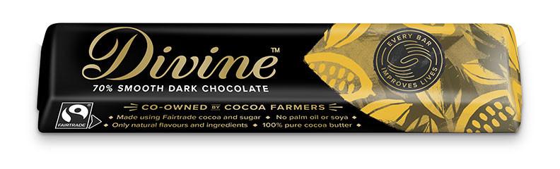 Divine 70% Dark Chocolate 35g