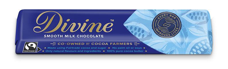 Divine Milk Chocolate Bar 35g